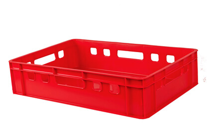 Food products crates - 600x400x125mm | снимка 1